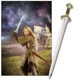 LOTR The Sword of Eowyn W/Display